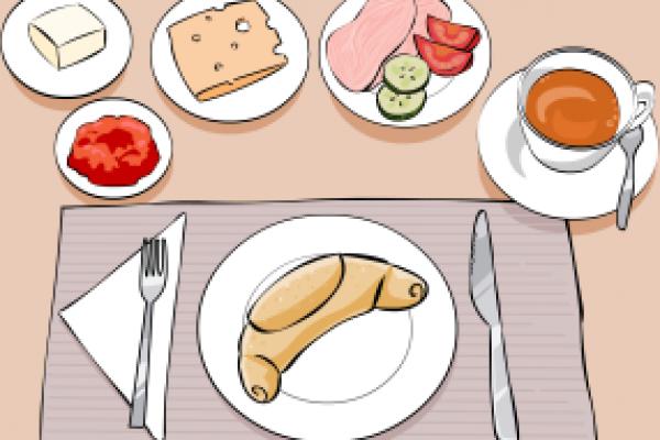 Jak prostřít ke snídani?