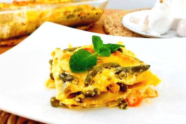 Jarní lasagne