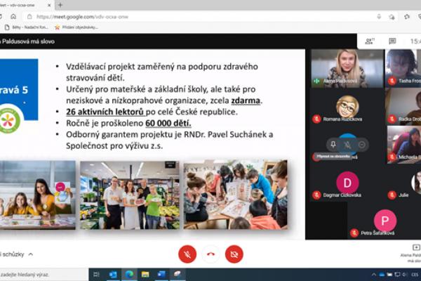 Online školení pro pedagogy