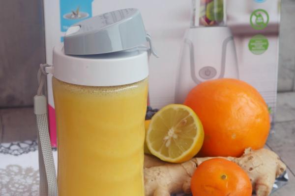 Zázvorové smoothie plné vitamínů